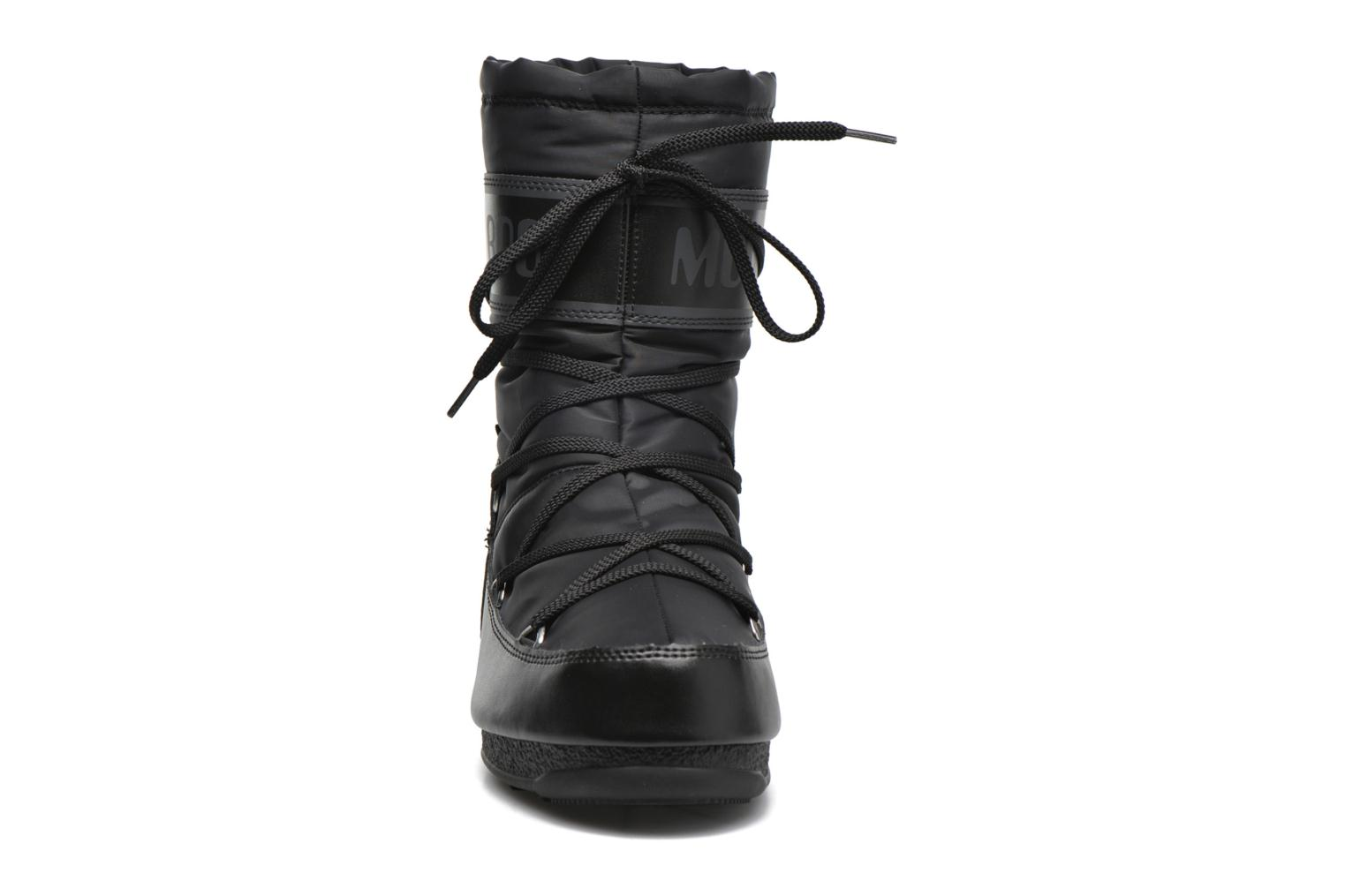 Sport shoes Moon Boot We Soft Shade Mid Black model view