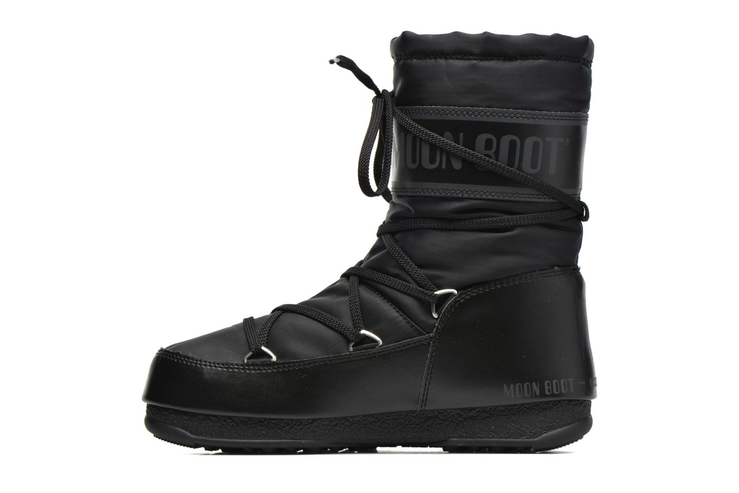 Sport shoes Moon Boot Soft Shade Mid Black front view
