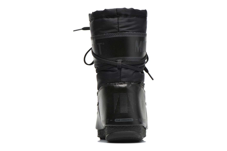 Sportschuhe Moon Boot We Soft Shade Mid schwarz ansicht von rechts