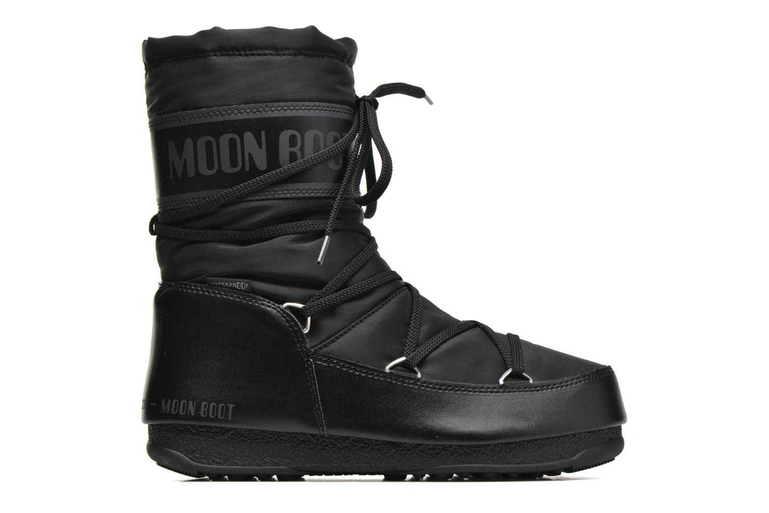 Sport shoes Moon Boot Soft Shade Mid Black back view