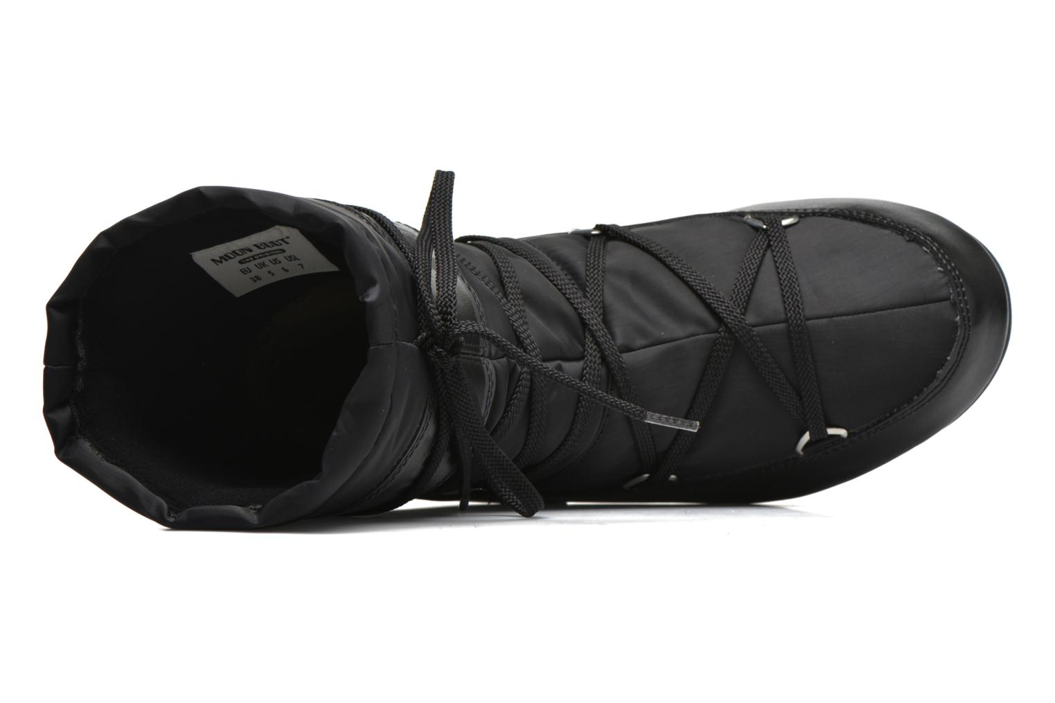 Sport shoes Moon Boot We Soft Shade Mid Black view from the left