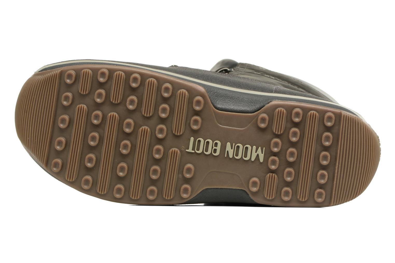 Sportschuhe Moon Boot Lem Lea schwarz ansicht von oben