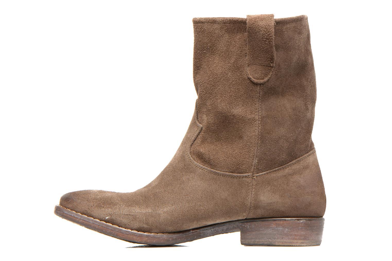 Bottines et boots Eden AMALIA Marron vue face