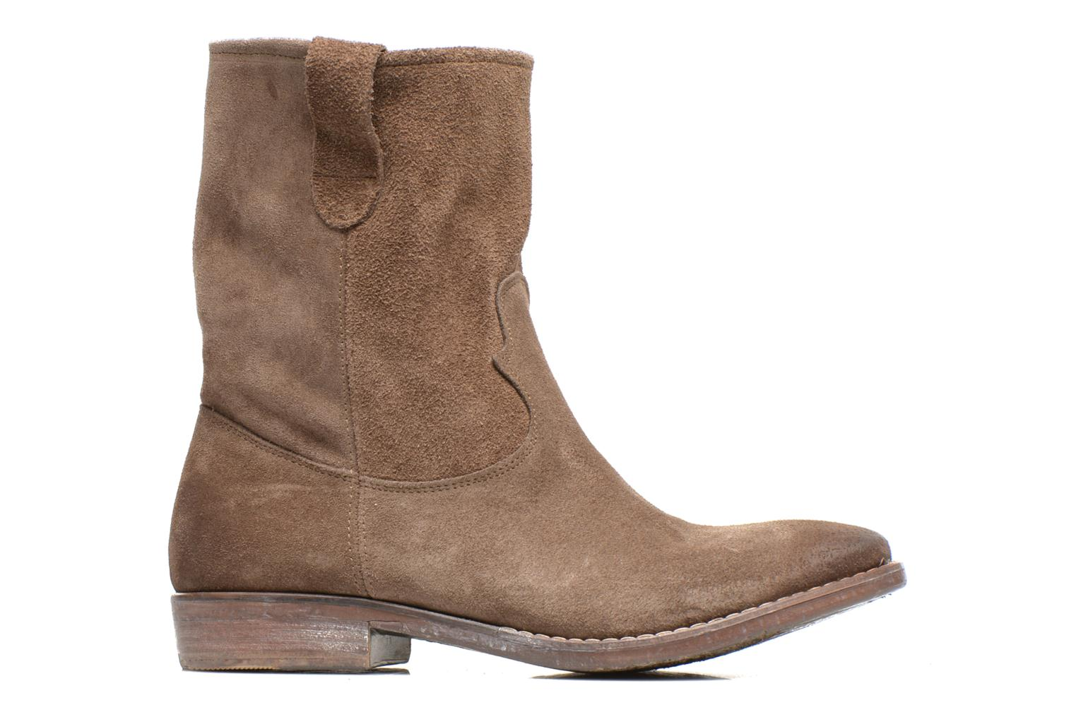 Ankle boots Eden AMALIA Brown back view
