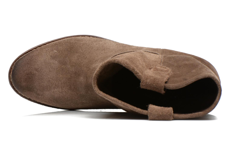 Bottines et boots Eden AMALIA Marron vue gauche