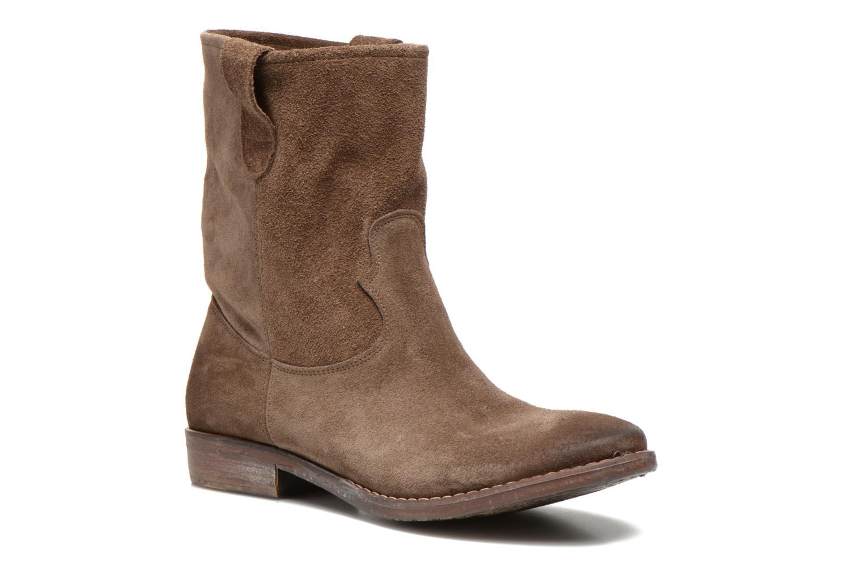 Bottines et boots Eden AMALIA Marron vue détail/paire