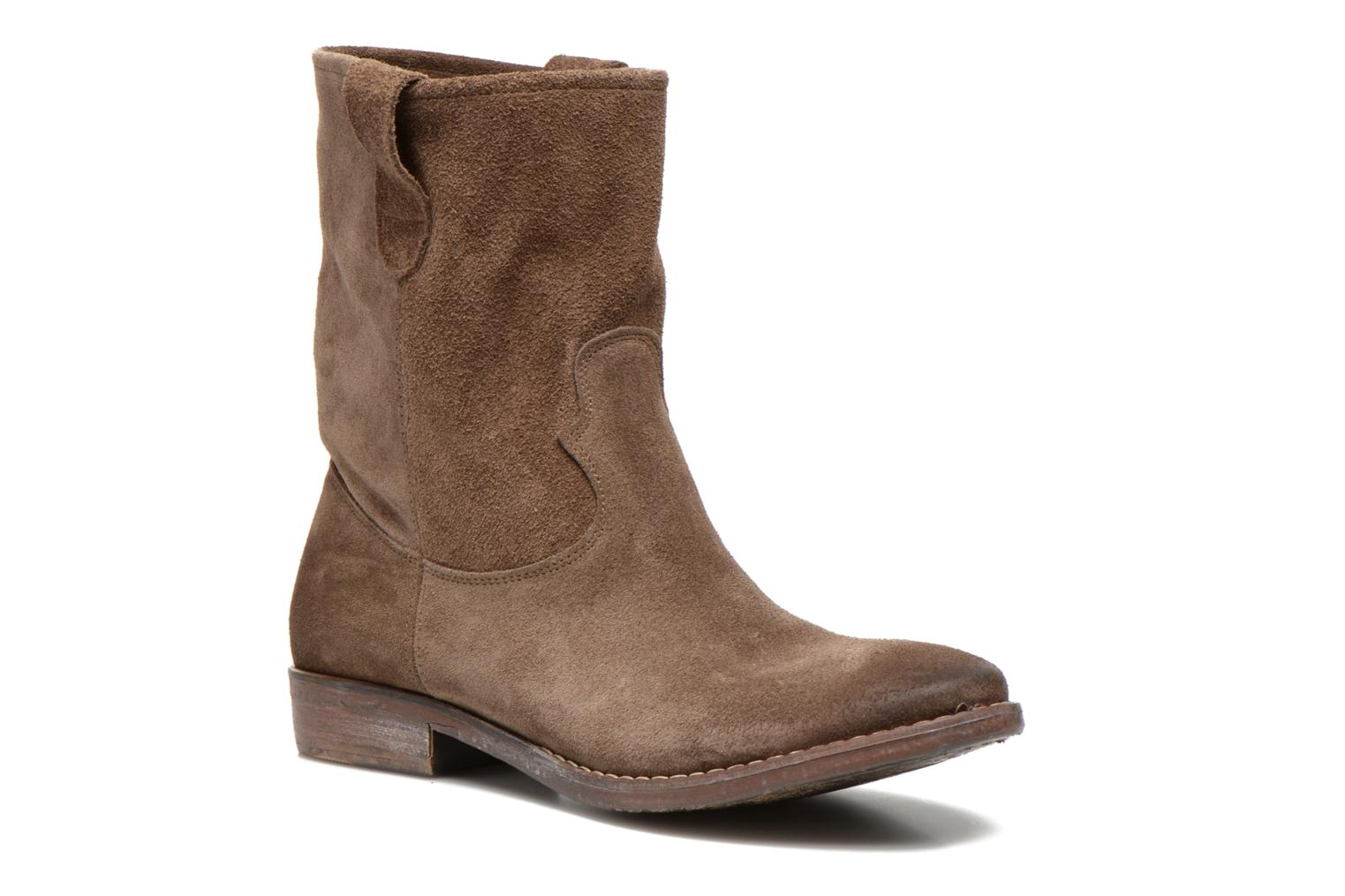 Ankle boots Eden AMALIA Brown detailed view/ Pair view