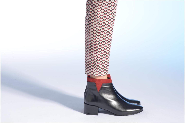 Bottines et boots Made by SARENZA Pop Party #2 Noir vue bas / vue portée sac