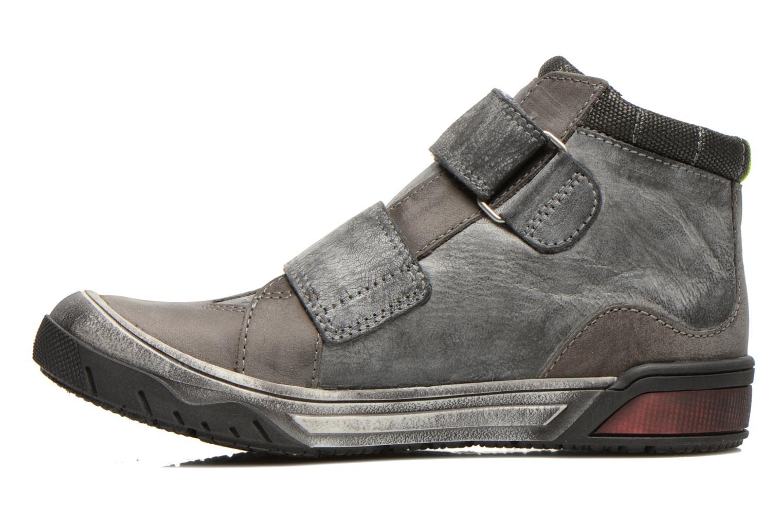 Schoenen met klitteband Catimini Capelan Grijs voorkant