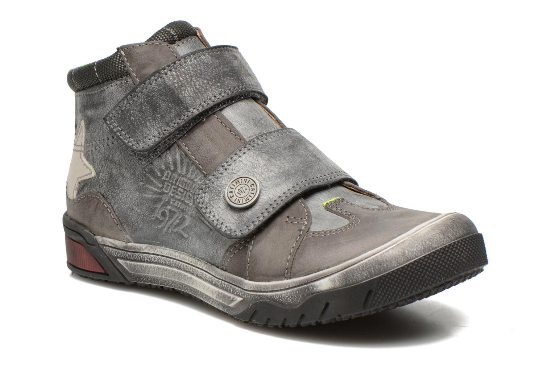 Schoenen met klitteband Catimini Capelan Grijs detail