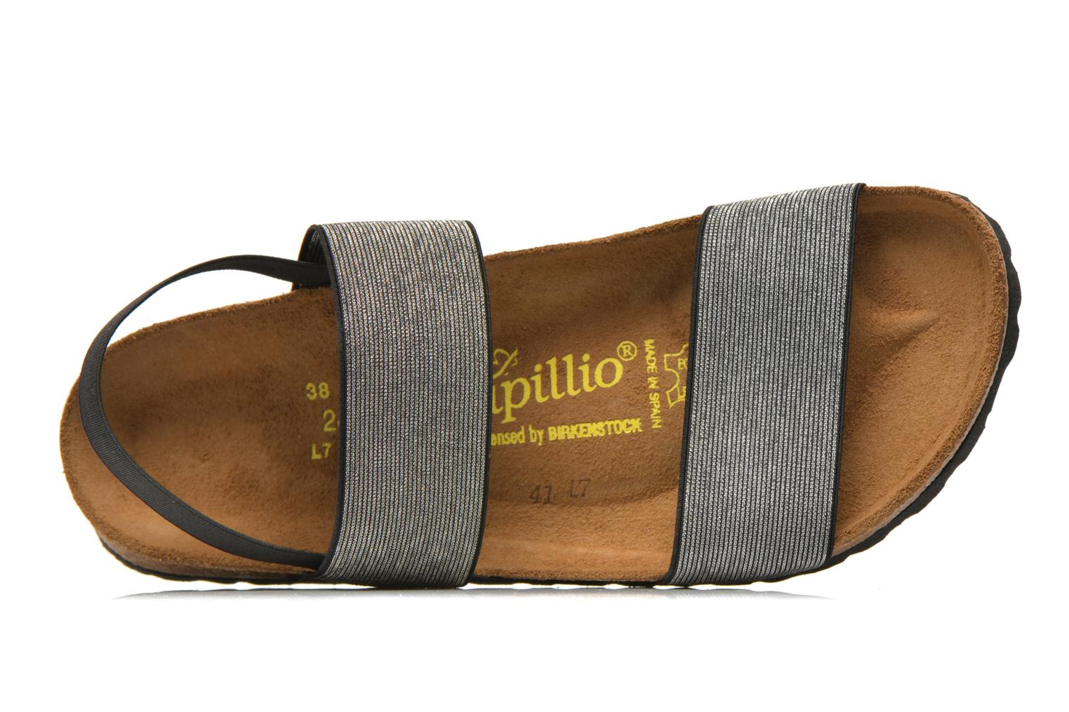 Sandals Papillio Caterina Stretch W Silver view from the left