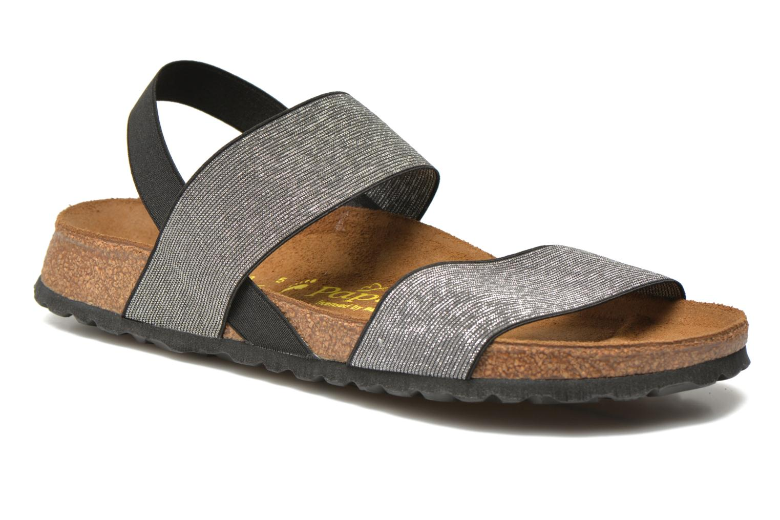 Sandals Papillio Caterina Stretch W Silver detailed view/ Pair view
