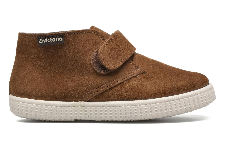 Chaussures à scratch Victoria Safari Serraje Velcro Marron vue derrière