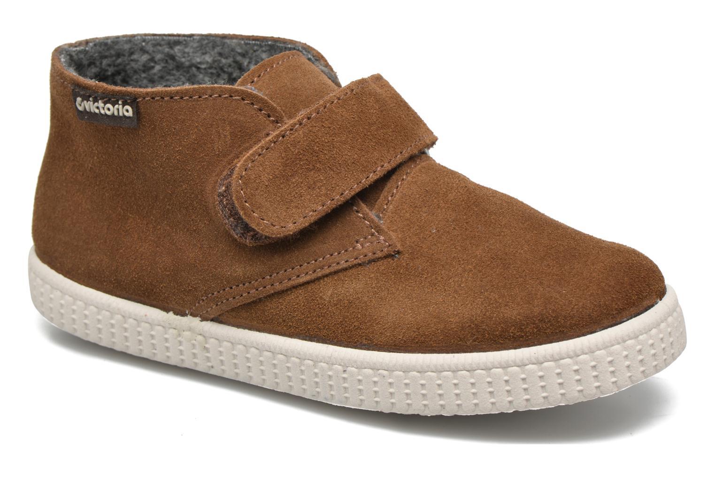 Chaussures à scratch Victoria Safari Serraje Velcro Marron vue détail/paire