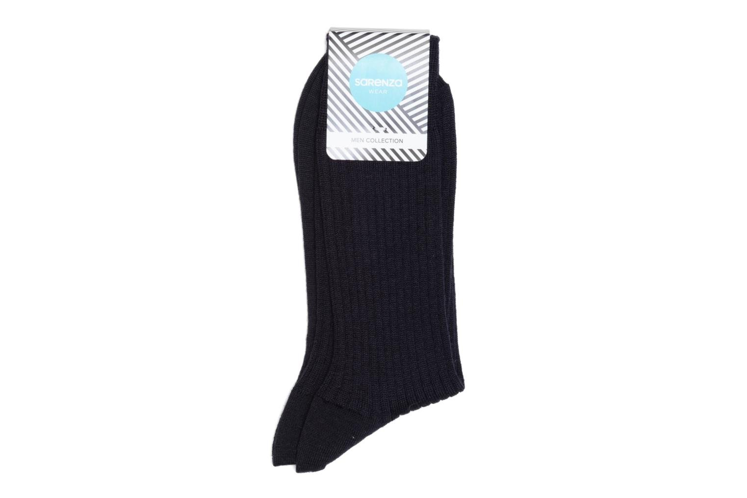 Chaussettes unies Marine