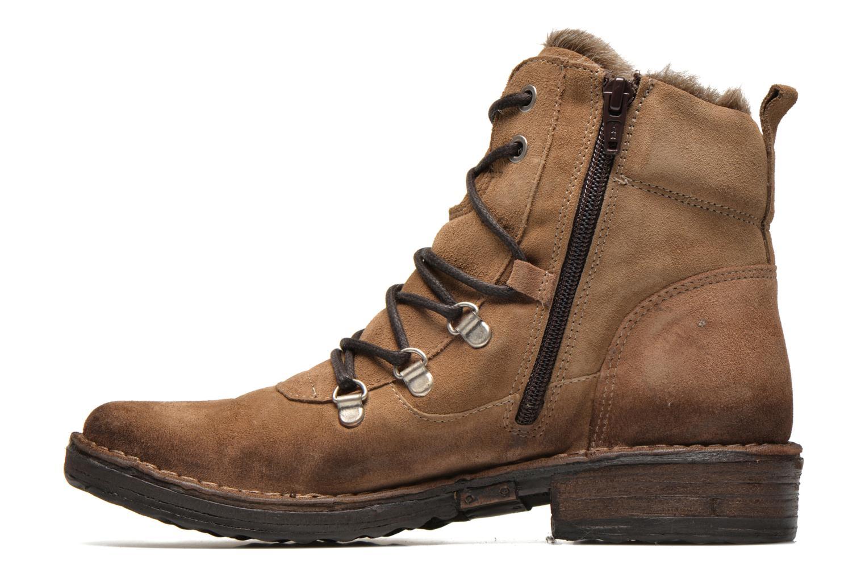 Bottines et boots Khrio Varos Beige vue face
