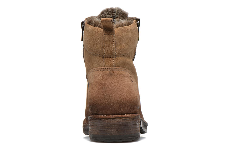 Bottines et boots Khrio Varos Beige vue droite