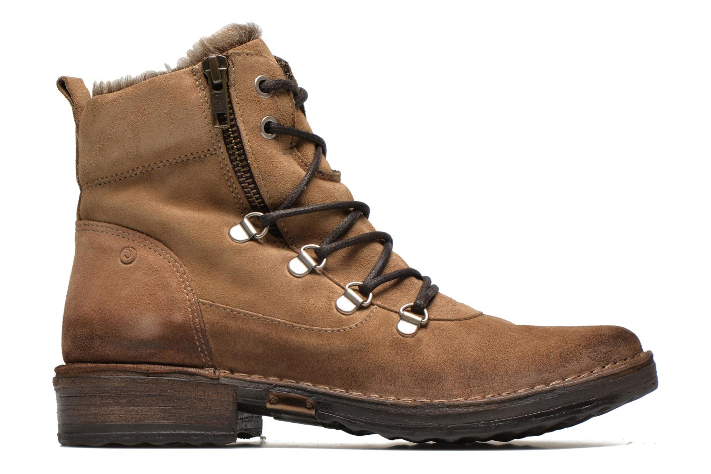 Bottines et boots Khrio Varos Beige vue derrière