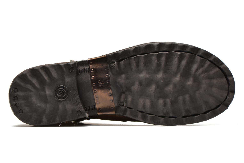 Bottines et boots Khrio Varos Beige vue haut