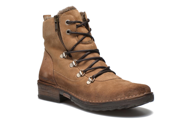 Bottines et boots Khrio Varos Beige vue détail/paire