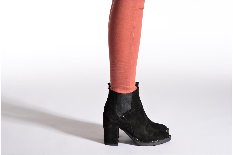 Bottines et boots Khrio Amam Beige vue bas / vue portée sac