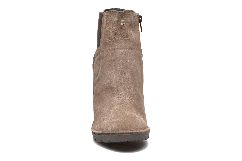 Bottines et boots Khrio Amam Beige vue portées chaussures