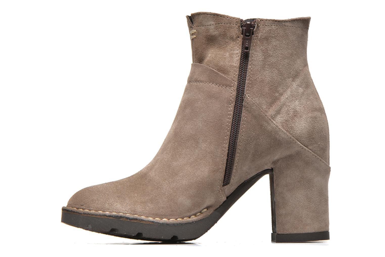 Boots en enkellaarsjes Khrio Amam Beige voorkant
