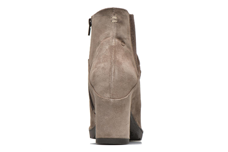 Bottines et boots Khrio Amam Beige vue droite