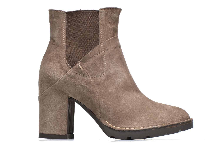 Boots en enkellaarsjes Khrio Amam Beige achterkant