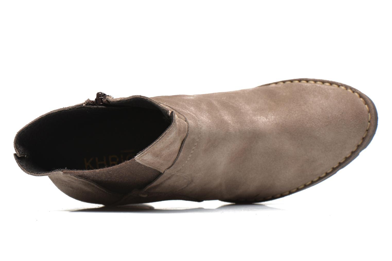 Bottines et boots Khrio Amam Beige vue gauche