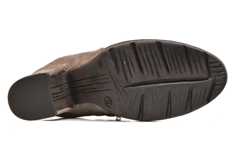Bottines et boots Khrio Amam Beige vue haut