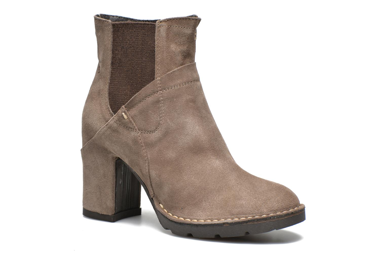 Ankelstøvler Khrio Amam Beige detaljeret billede af skoene