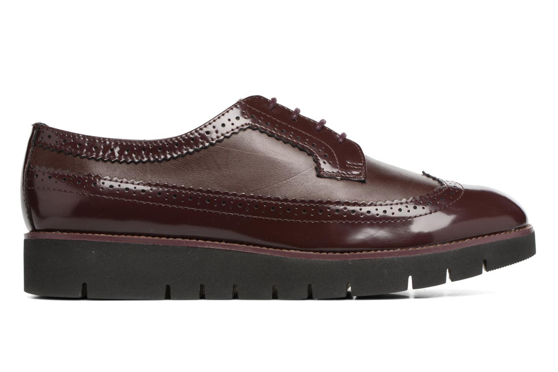 Chaussures à lacets Geox D BLENDA C D540BC Bordeaux vue derrière