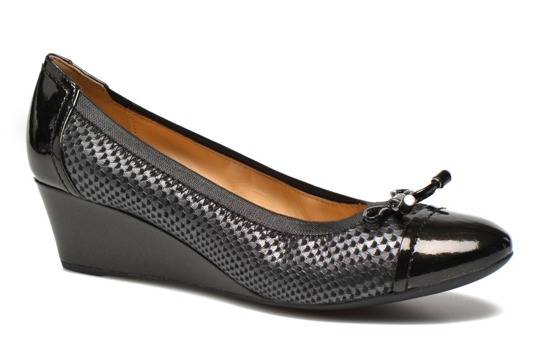 High heels Geox D FLORALIE A D54T4A Black detailed view/ Pair view