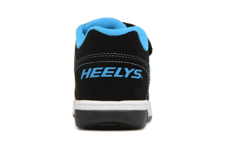 Baskets Heelys Dual Up X2 Noir vue droite