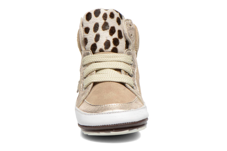 Baskets Shoesme Silvia Beige vue portées chaussures