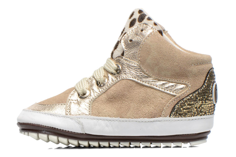 Sneaker Shoesme Silvia beige ansicht von vorne