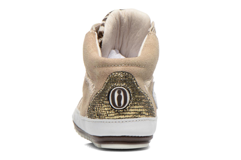Sneaker Shoesme Silvia beige ansicht von rechts