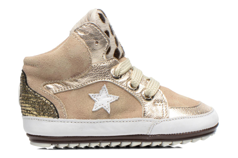 Sneaker Shoesme Silvia beige ansicht von hinten