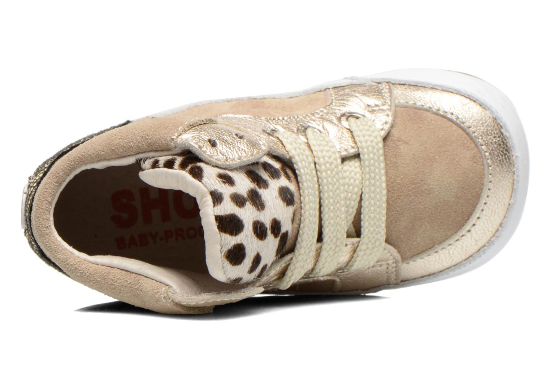Sneaker Shoesme Silvia beige ansicht von links