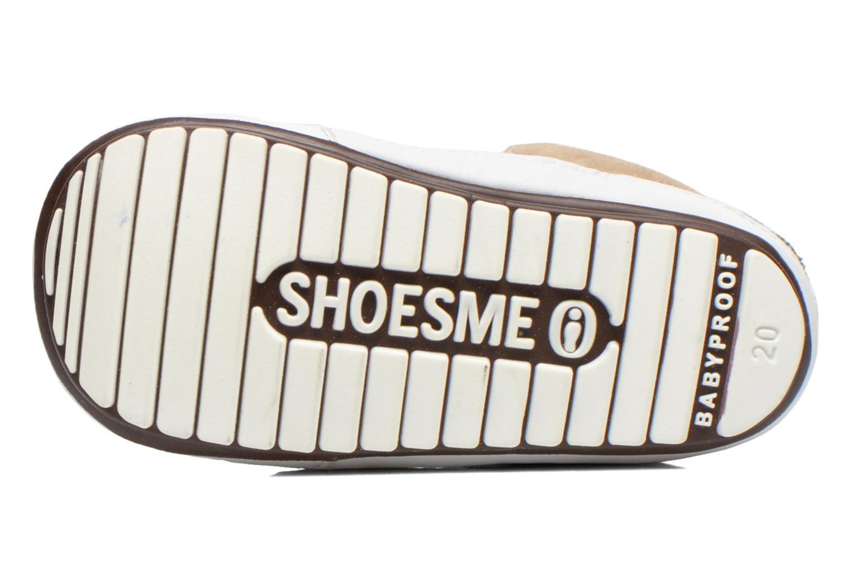 Baskets Shoesme Silvia Beige vue haut