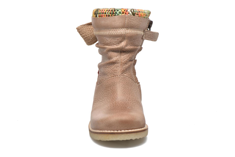 Bottines et boots Shoesme Sienna Beige vue portées chaussures