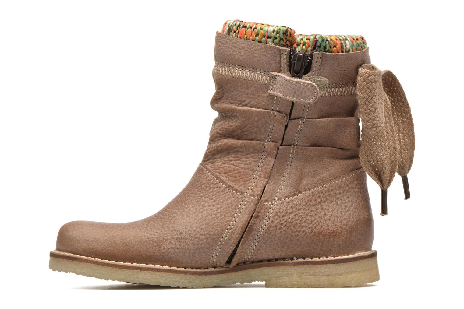 Ankle boots Shoesme Sienna Beige front view