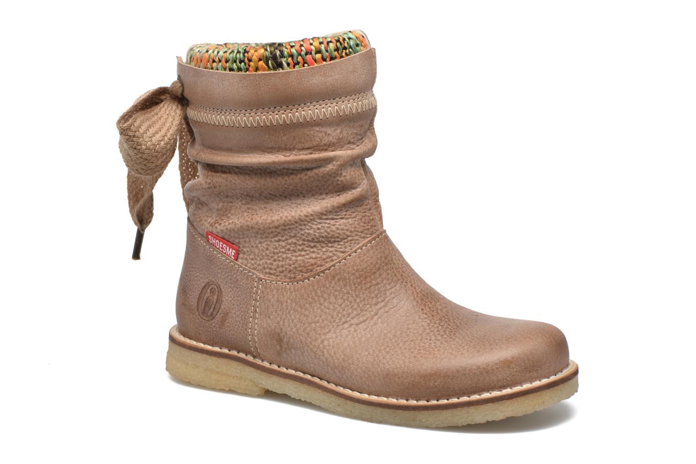 Bottines et boots Shoesme Sienna Beige vue détail/paire