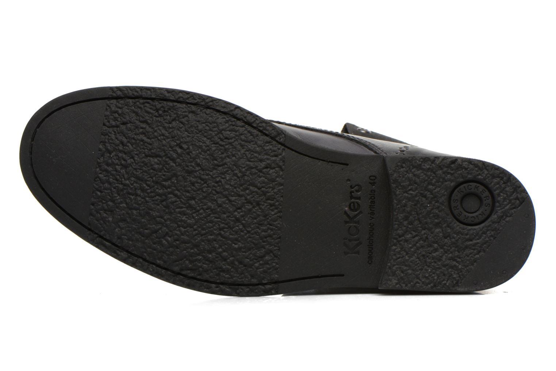Bottines et boots Kickers MARSY Noir vue haut