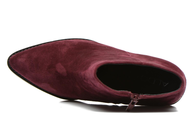 Bottines et boots Aldo DIGOSIEN Bordeaux vue gauche
