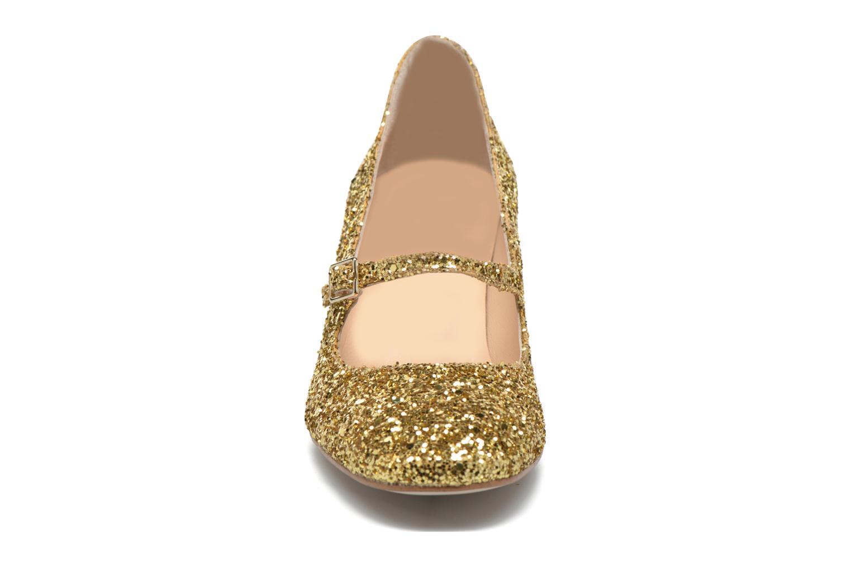Pumps Georgia Rose Tex new Bronze och Guld bild av skorna på