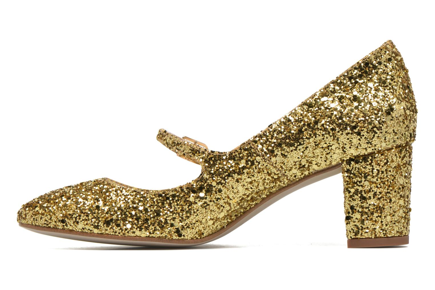 Pumps Georgia Rose Tex new gold/bronze ansicht von vorne