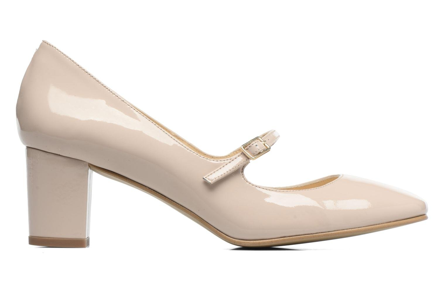 High heels Georgia Rose Tex new Beige back view