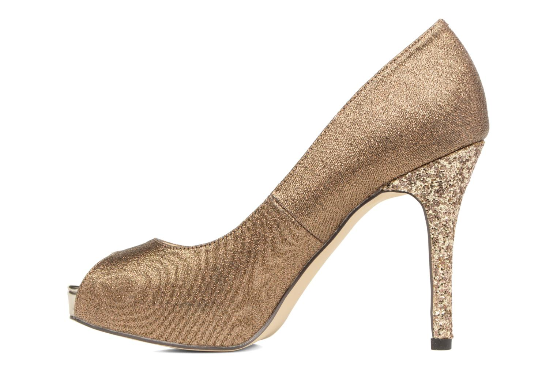 High heels Menbur Bailen Brown front view